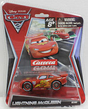 CARRERA GO 61193 DISNEY PIXAR CARS 2 LIGHTNING McQUEEN 1/43 SLOT CAR NEW
