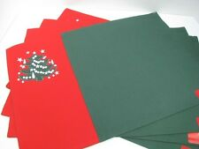 Waechtersbach Embroidered Christmas Tree Placemats Set of 4 New