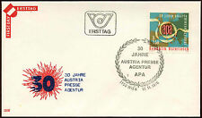 Austria 1976 stampa Agenzia FDC primo giorno copertura #C 14840