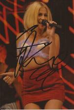MUSIC: PIXIE LOTT SIGNED 6x4 SEXY LIVE ACTION PHOTO+COA **TURN IT UP** *PROOF*