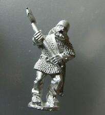 1x Viking Norse Guerrero Luchador Norte Nordic MacHo Fundición Metal hacha Fig # j