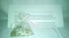 herb blend white sachet for purification cleansing healing magic Karma Keepers