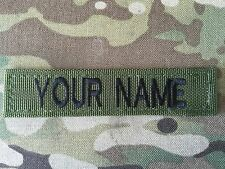 British Army Name Tape