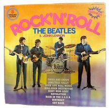 1975 Beatles John Lennon Rock N Roll 3 LP Box Set Original Import EMI 5408
