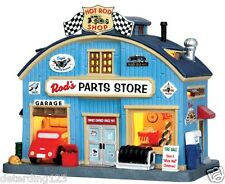 LEMAX JUKEBOX JUNCTION COVE ROD'S PARTS STORE # 45707 NIB - LAST IN STOCK!!