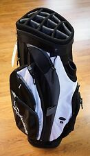 TaylorMade Golf San Clemente Lightweight 14 Way Cart Bag White Gray Black NEW