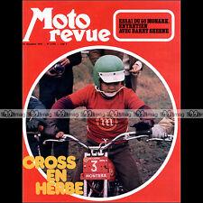 MOTO REVUE N°2105 MONARK 50 SACHS HUSQVARNA CR 125 250 400 BENELLI 750 SEI 1972