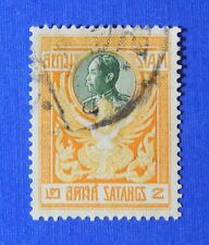 1910 THAILAND 2 SATANG SCOTT# 139 MICHEL.# 94 USED                       CS24160