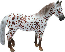 NEW CollectA 88750 Chestnut Leopard British Spotted Mare Pony Model 13cm - Horse