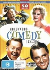 Hollywood COMEDY Legends DVD 50 MOVIES OVER 69 HOURS BRAND NEW 12-DISCS BOX R4