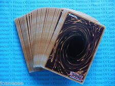 50 Different Yu-gi-oh Common Cards All New Unplayed Clearance Bundle/Job Lot