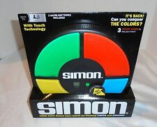Electronic SIMON Large Classic FULL SIZE memory light/sound says game NEW/BOX