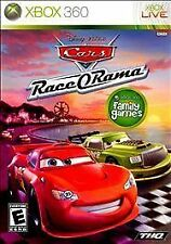 XBOX 360 DISNEY CARS RACE O RAMA NEW VIDEO GAME RATED E