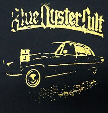 Blue Oyster Cult band ***3XL*** screen printed t-shirt Yellow on Black retro