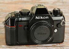 NICE Nikon F301 Manual Focus 35mm Film SLR FREE Post