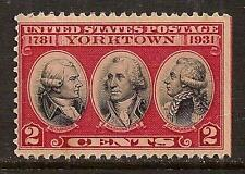 USA 1931 YORKTOWN SC # 703c ? MNH