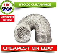 Aluminium Foil Flexible Ducting - Ventilation & Hydroponic Accessory