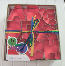 Large Letter Alphabet Set of 26 Pieces Cookie Cutters