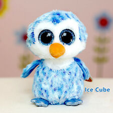 Cute TY Beanies Boos Chillz The Blue Penguin Plush Collectible Toy doll 6'' New