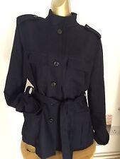 Reiss Ladies Jacket Navy Blue Ladies Jacket Size 16 Approx. Women's Jacket D1