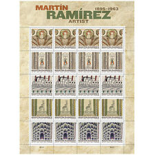 USPS New Martin Ramirez Forever Stamp Sheet of 20