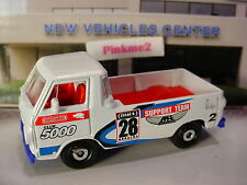 2016 MATCHBOX '66 DODGE A100 ☆White/blue/Red; SUPPORT TEAM 28☆Construction☆LOOSE