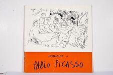 Hommage à PICASSO Catalogue Expo signé Concert Richter Danseurs-Etoile NICE 1961