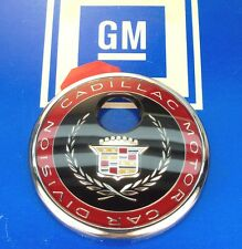NEW CADILLAC ELDORADO DEVILLE STS TRUNK LOCK COVER EMBLEM ORNAMENT NOS GM
