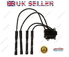 Renault Twingo MK1 MK2 1.2 16V IGNITION COIL PACK SPARK PLUG LEAD 4 BOLT FIXIN