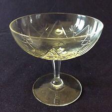Coupe à champagne cristal taillé de très grande qualité anonyme