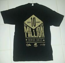 Virgin Mobile Boost and Paylo 10 million devices sold! Tshirt med  100% cotton