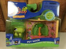Littlest Pet Shop Nook Surf Shop #350 Turtle Display & play New