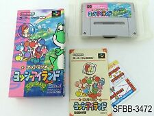 Complete Yoshi's Island Super Famicom Japanese Import CIB SFC SNES US Seller B
