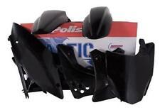 New Polisport  Plastic Kit Set Black KAWASAKI KX250F 2006–2008