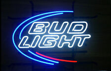 Bud Light Budweiser REAL NEON SIGN BEER BAR LIGHT [ Best Designed ]