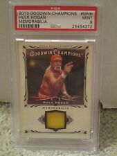 2013 Goodwin Champions #MHH -HULK HOGAN Memorabilia PSA 9 Mint- POP1 None Higher