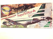 Hasegawa Loveliner 200 Series Cathay Pacific Lockheed L-1011 Airplane Model Kit