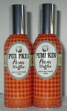 Bath & and Body Works Home Concentrated Room Spray Set 2 Pumpkin Pecan Waffles