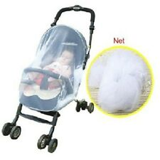 Universal Mosquito Net For Prams & Pushchairs One Size fits Most WHITE