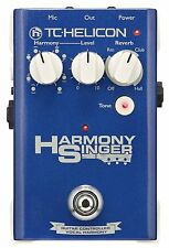 TC-Helicon Harmony Singer Live Harmonizer Vocal Multi-Effects Pedal NEW!