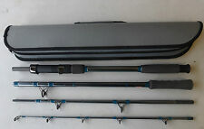 TRAVEL BOAT ROD IN CASE, 7FT, 20-30LB CLASS, CLOSED LENGTH 58CM