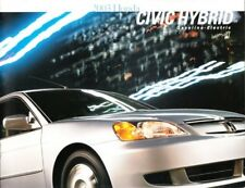 2003 03 Honda Civic hybrid original sales brochure MINT