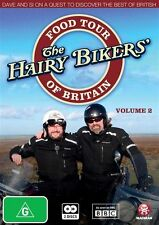 The Hairy Bikers: Food Tour of Britain - Volume 2 NEW R4 DVD
