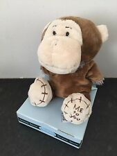 RARE ME TO YOU ANIMAL TATTY TEDDY BEAR ON BOX - DRESS UP - MONKEY