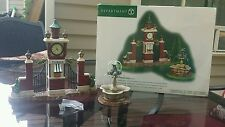 Dept 56 Christmas in City CITY PARK GATEWAY Village Fountain Tickets