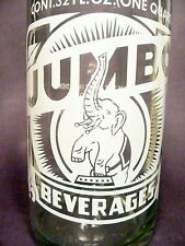 vintage ACL SODA ACL BOTTLE - #1  JUMBO of GROVE CITY, PA  -  32 oz POP BOTTLE