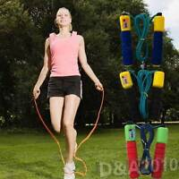 Countable Skipping Jumpping Boxing Training Speed Rope For Fitness Workout Black