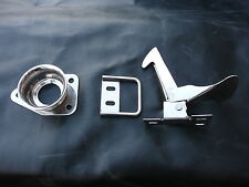 MGB MGC BONNET SAFETY CATCH HOOK + CUP STAINLESS STEEL