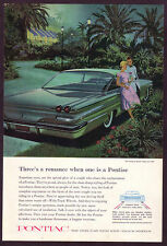 1960 Vintage Pontiac Ventura Sports Coupe Car - AF & VK Art Print AD
