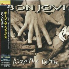 BON JOVI - KEEP THE FAITH 1999 JAPAN MINI LP CD 1st ISSUE